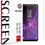 Clear 3D Full Tempered Glass Screen Protector - Samsung Galaxy S9 Plus
